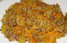 «Гречка с овощами»— домашняя заготовка