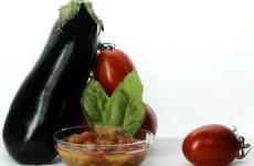 «Баклажаны в томатном соусе»— вкусная заготовка на зиму