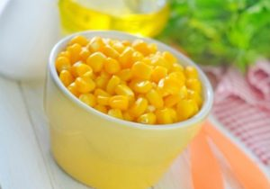 консервированная кукуруза, рецепт