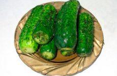 Рецепт заготовки малосольных огурцов