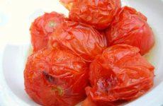 Как заготовить запеченные помидоры на зиму