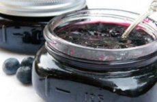 Рецепт вкусного варенья из черники