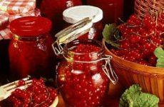 Классическое варенье из красной смородины
