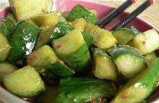 Необычный рецепт огурцов по-корейски
