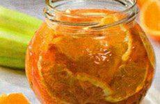 Варенье из кабачков с апельсином: эксклюзивный рецепт
