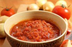 Заготовка аджики из помидор на зиму