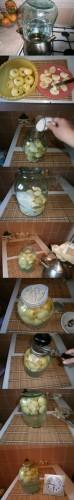 консервация яблок белый налив