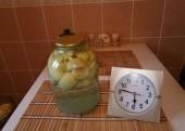 консервирование яблок белый налив