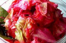 Рецепт капусты «Пелюстка»