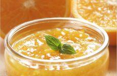 Оранжевое апельсиновое варенье