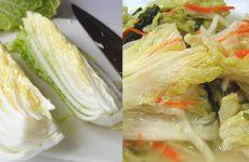 Засолка пекинской капусты: оригинально и вкусно