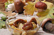 Засолка белых грибов горячим способом