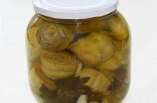 Маринованные артишоки в оливковом масле