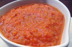 Вкусный соус из кабачков