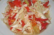 Заготовка салата «Кубанский» на зиму