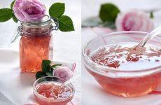 Как приготовить варенье из чайной розы