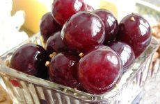 Заготовка маринованного винограда