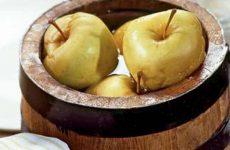 Традиционный рецепт моченых яблок