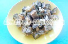 Баклажаны под грибы, аппетитная закуска за 6 часов