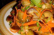 Синенькие по-корейски: рецепт на зиму