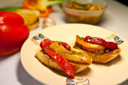 маринованный перец с яблоками