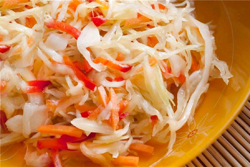 Салат из свежей капусты на зиму рецепты с