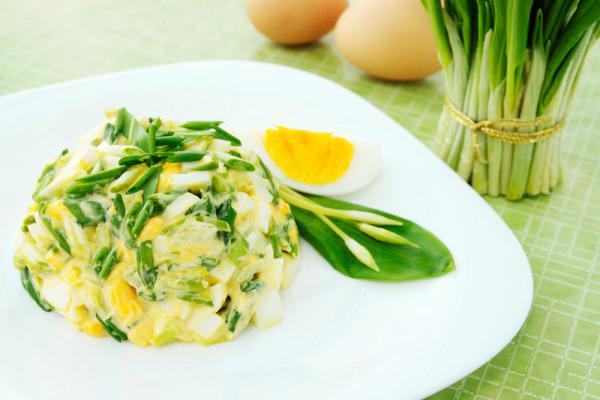 салат из черемши рецепт