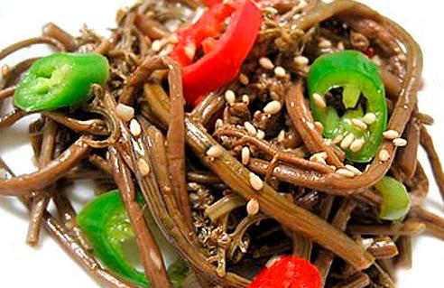 Папоротник салат корейский рецепт - Разные рецепты салатов
