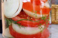 Как приготовить помидоры в желатине