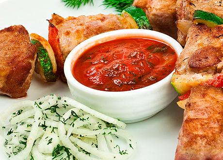 томатный соус к шашлыку рецепт
