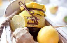 Варенье с имбирем и лимоном