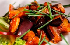 Баклажаны в сладком соусе: оригинальный рецепт