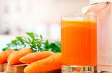 Морковный сок: полезные рецепты