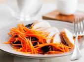 закуска из моркови с чесноком