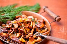 Запасаемся жареными грибами на зиму