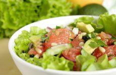 Сочные и яркие салаты с грейпфрутом
