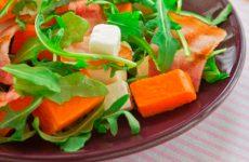 Осенние салаты из свежей тыквы