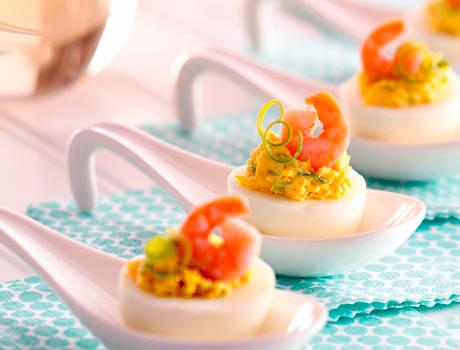 холодная закуска из яиц рецепт