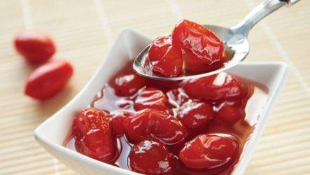 Варенье из сочных помидоров черри