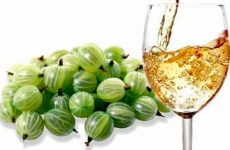 Освежающее вино из крыжовника