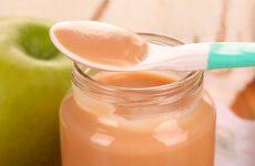 Яблочное пюре Неженка: вкус детства