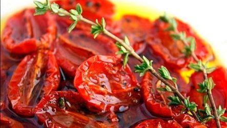 Вяленые помидоры черри: любимая итальянская закуска