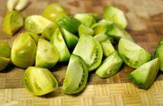Зеленые помидоры по-корейски: оригинальная закуска