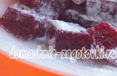 Рахат-лукум в домашних условиях с малиновым вкусом