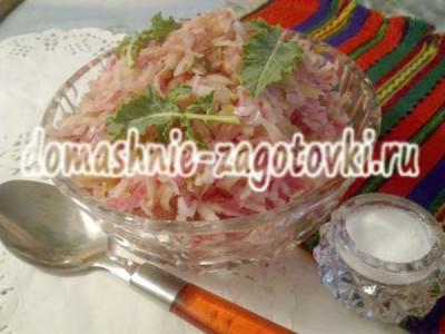 рецепт салата из кольраби