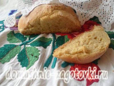 хлеб из тыквы