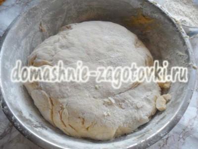 тыквенное тесто