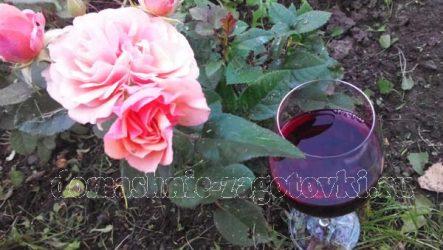 Как приготовить вино из лепестков роз
