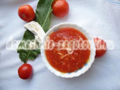 хреновина с помидорами