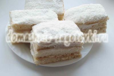 пирожное медовик рецепт